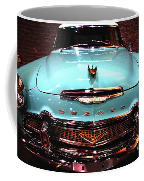 Car Coffee Mug featuring the photograph Desoto - Mio Amor by Susanne Van Hulst