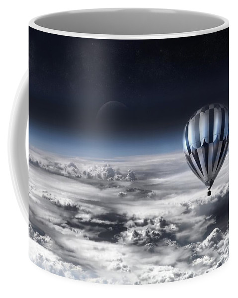 Sky Coffee Mug featuring the photograph Destiny by Jacky Gerritsen
