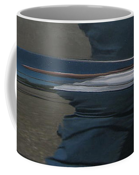 Chrome Coffee Mug featuring the photograph Details by Kelly Mezzapelle