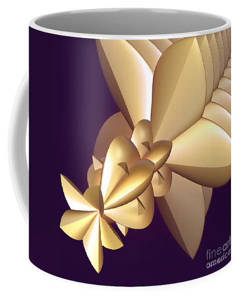 Incendia Coffee Mug featuring the digital art Developing New Star by Deborah Benoit