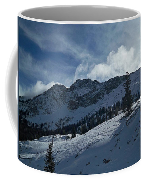 Ski Coffee Mug featuring the photograph Devils Castle Morning Light by Michael Cuozzo