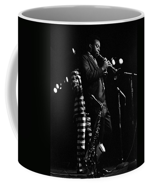 Dewey Redman Coffee Mug featuring the photograph Dewey Redman by Lee Santa