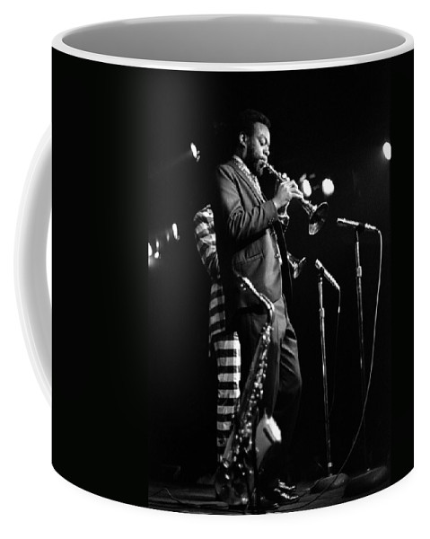 Ornette Coleman Coffee Mug featuring the photograph Dewey Redman on Musette by Lee Santa