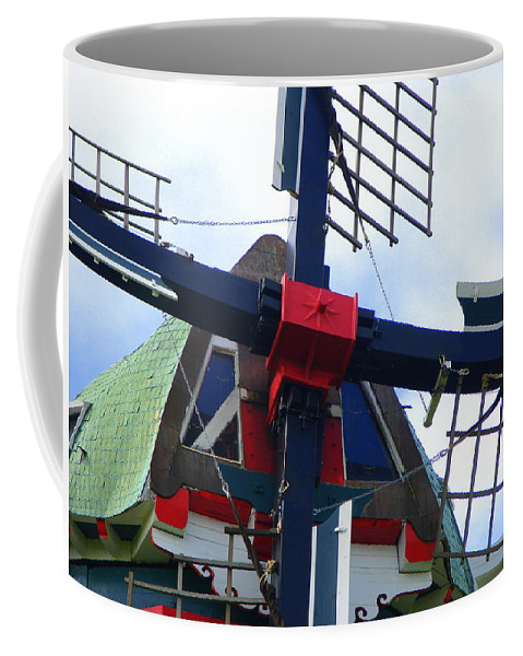 Dezwaan Coffee Mug featuring the photograph Dezwaan Windmill Holland Michigan by Michelle Calkins