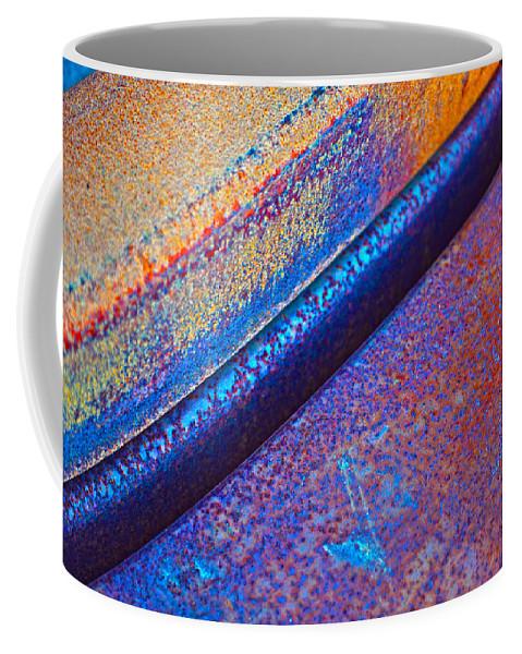 Diagonal. Abstract Coffee Mug featuring the photograph Diagonal by Randi Grace Nilsberg