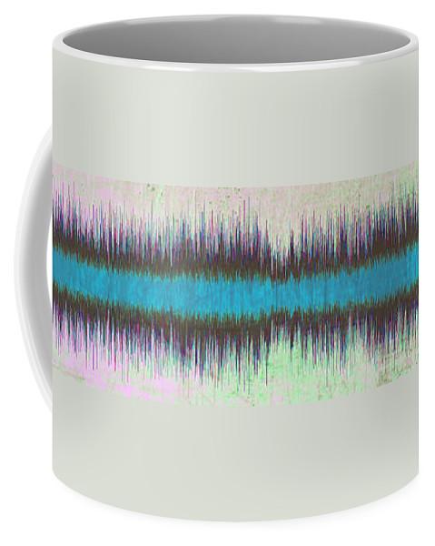 Diamond Dogs Coffee Mug featuring the digital art 11043 Diamond Dogs By David Bowie V2 by Colin Hunt