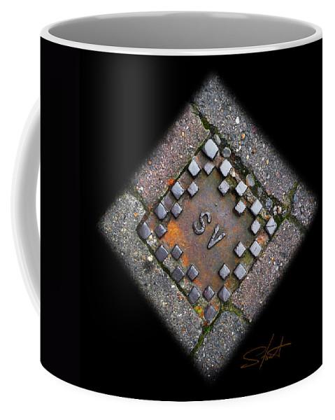 Diamond Coffee Mug featuring the photograph Diamond Sv by Charles Stuart
