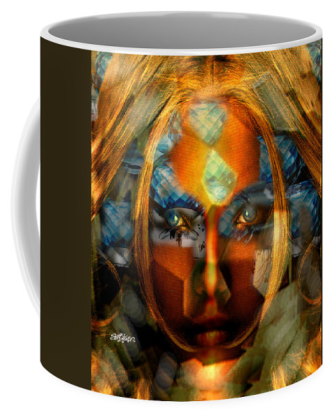 Lady Coffee Mug featuring the photograph Diamonella by Seth Weaver