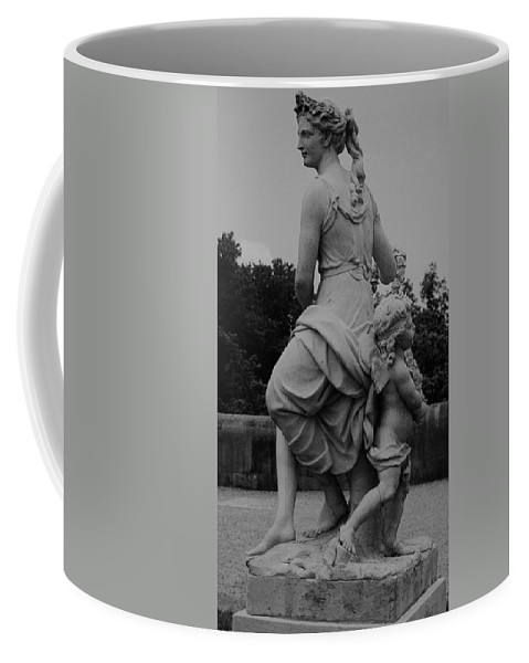 Figurative Coffee Mug featuring the painting Diana by Eric Schiabor