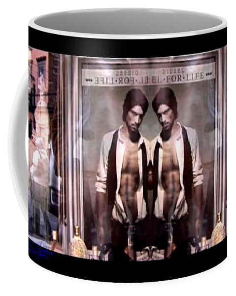 Dream Coffee Mug featuring the photograph Diesel For Life by Charles Stuart