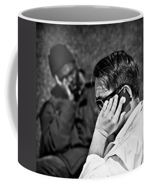 People Coffee Mug featuring the photograph Different Lives by Dave Bowman
