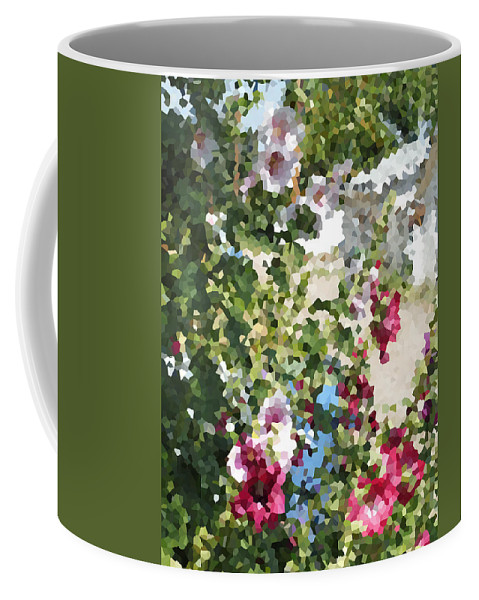 Digital Artwork Coffee Mug featuring the digital art Digital Artwork 1399 by Maureen Lyttle
