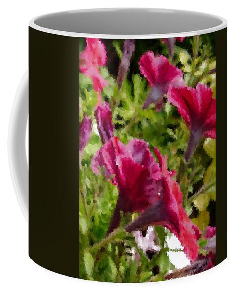 Digital Artwork Coffee Mug featuring the digital art Digital Artwork 1408 by Maureen Lyttle