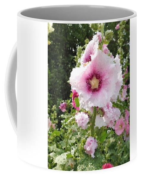 Digital Artwork Coffee Mug featuring the digital art Digital Artwork 1421 by Maureen Lyttle