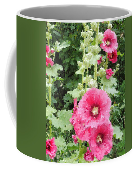 Digital Artwork Coffee Mug featuring the photograph Digital Artwork 1426 by Maureen Lyttle