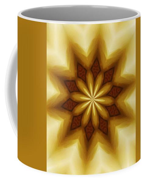 Fine Art Coffee Mug featuring the digital art Digital Doodle 110510a by David Lane