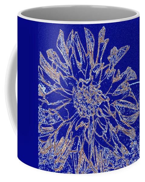 Digital Drawing Coffee Mug featuring the digital art Digital Drawing 2 by Will Borden