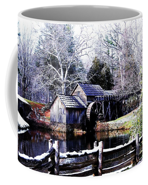 Mill Coffee Mug featuring the photograph Digital Mill by Eric Liller