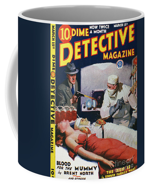 1933 Coffee Mug featuring the photograph Dime Novel 1933 by Granger