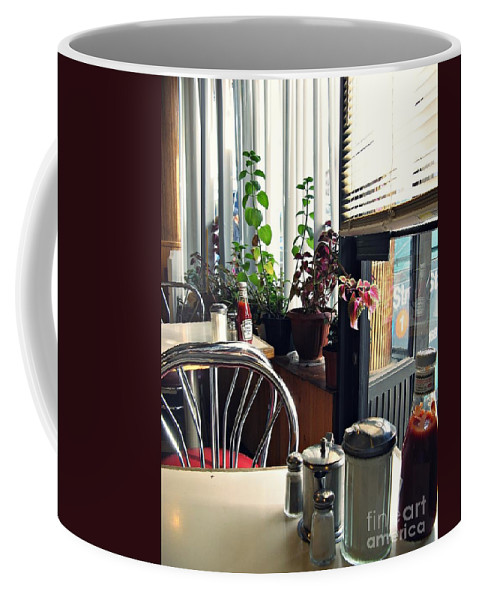 Diner Coffee Mug featuring the photograph Diner Still Life 2 by Sarah Loft