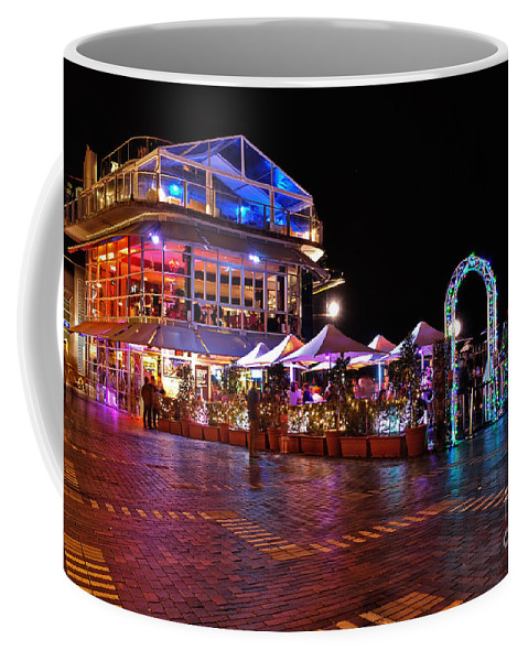 Photography Coffee Mug featuring the photograph Dining In Color - Vivid Sydney By Kaye Menner by Kaye Menner