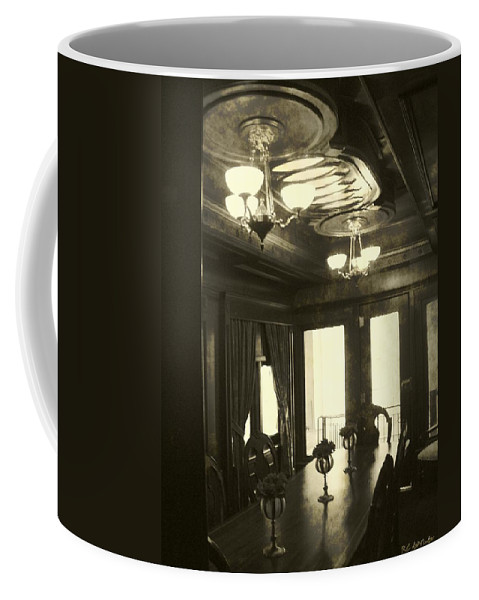 Antique Coffee Mug featuring the photograph Dining In Style by RC DeWinter