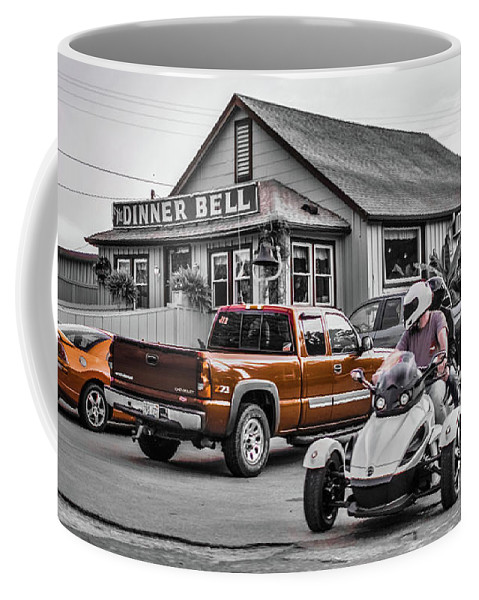 Restaurant Buffet Coffee Mug featuring the photograph Dinner Bell by Chad Fuller