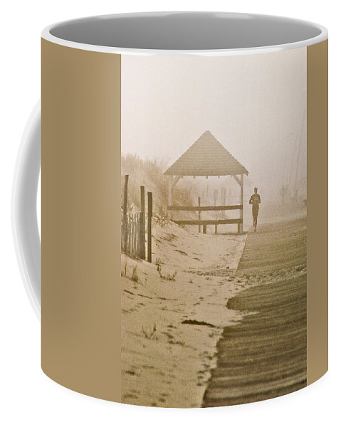Landscape Coffee Mug featuring the photograph Disappearance by Steve Karol