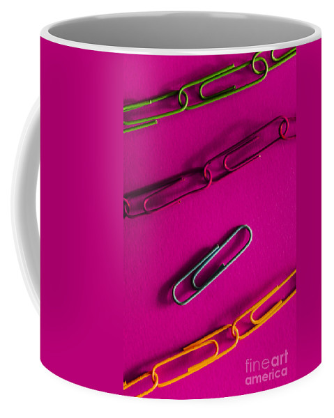 Organization Coffee Mug featuring the photograph Disconnected by Jorgo Photography - Wall Art Gallery