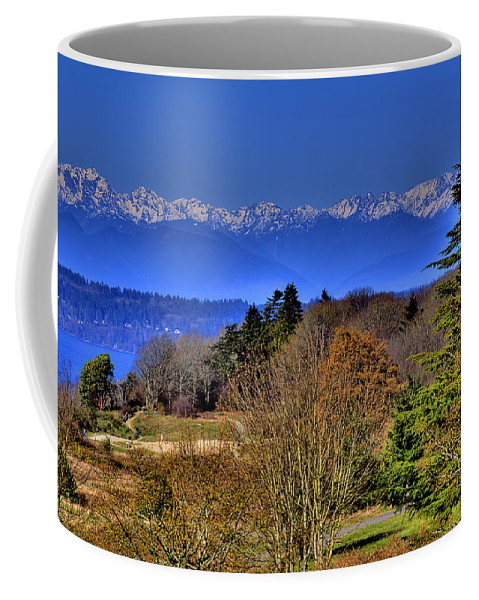 Photo Coffee Mug featuring the photograph Discovery Park No.2 by David Patterson