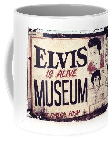 Polaroid Transfer Coffee Mug featuring the photograph Disgraceland No. 2 by Jane Linders