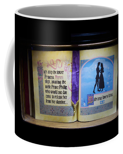 Disney Coffee Mug featuring the photograph Disneyland Waiting For True Loves Kiss by Thomas Woolworth