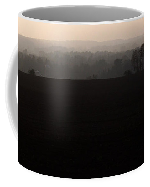 Hills Coffee Mug featuring the photograph Distant Hills by Tim Nyberg