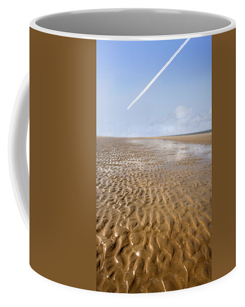 Travel Coffee Mug featuring the photograph Distant Horizon by Mal Bray