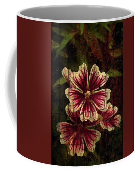 Flowers Coffee Mug featuring the photograph Distinctive Blossoms by Sherman Perry