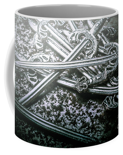 Middle Ages Coffee Mug featuring the photograph Distortions From Fables Conquered by Jorgo Photography - Wall Art Gallery