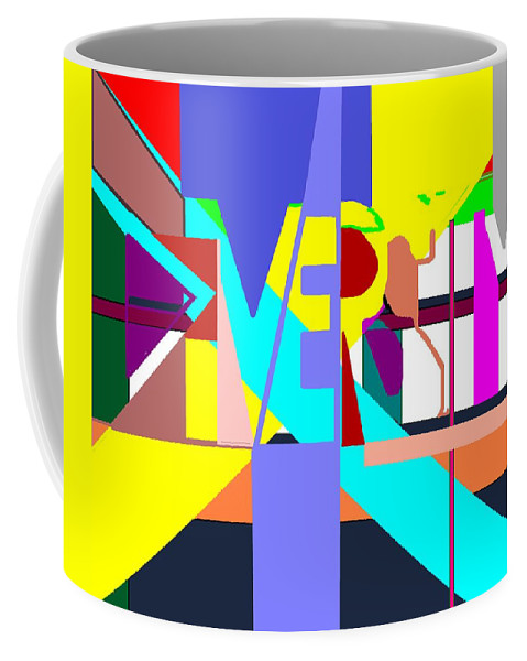 Diversity Coffee Mug featuring the digital art Diversity Enmeshed by Pharris Art