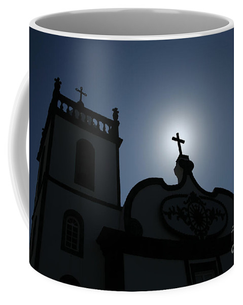 Belief Coffee Mug featuring the photograph Divine Light by Gaspar Avila