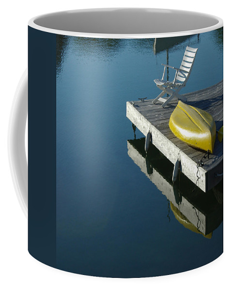 Landscape Nautical New England Kennebunkport Coffee Mug featuring the photograph Dnre0609 by Henry Butz