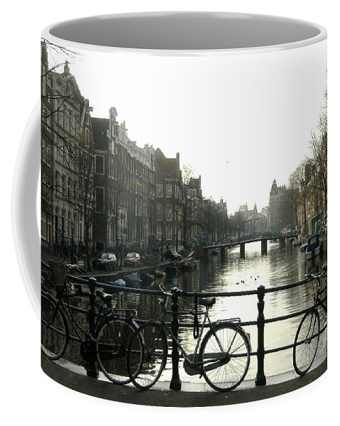 Landscape Amsterdam Red Light District Coffee Mug featuring the photograph Dnrh1103 by Henry Butz