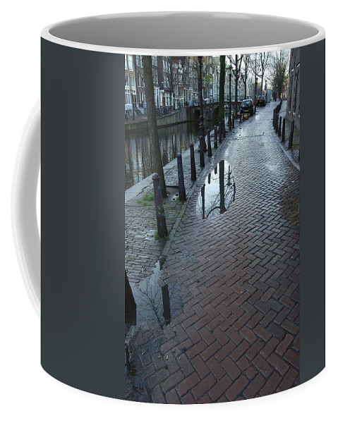 Landscape Amsterdam Red Light District Coffee Mug featuring the photograph Dnrh1109 by Henry Butz