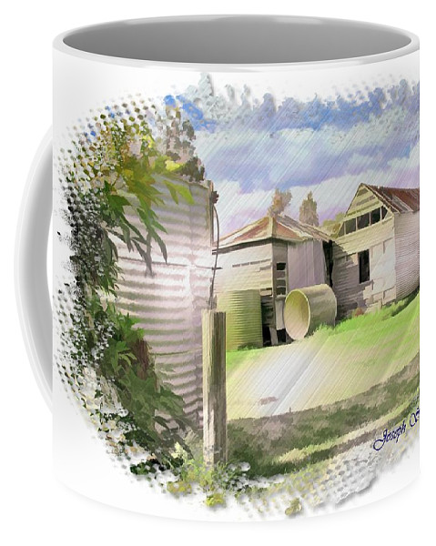 Cottage Coffee Mug featuring the photograph Do-00027 Old Cottage by Digital Oil