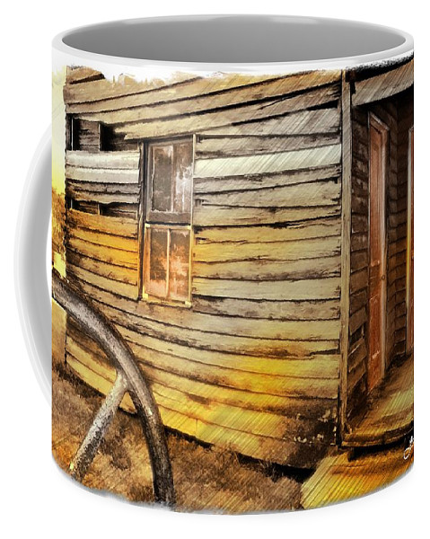 Old House Coffee Mug featuring the photograph Do-00040 Old House Front by Digital Oil