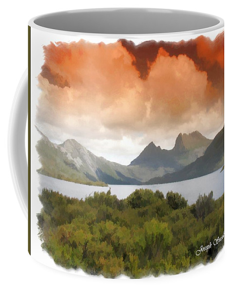 Cradle Mountains Coffee Mug featuring the photograph Do-00140 Cradle Mountains by Digital Oil