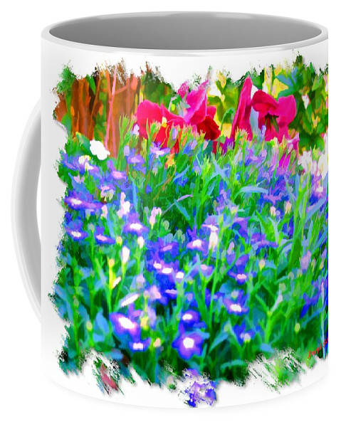 Flowers Coffee Mug featuring the photograph Do-00221 Flowers by Digital Oil