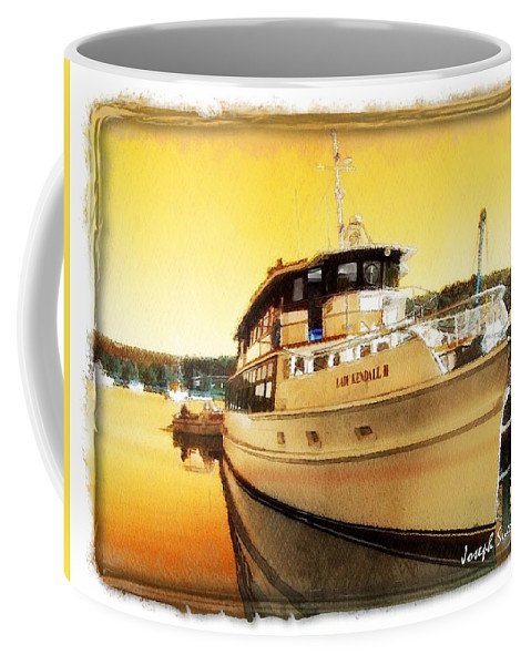 Lady Kendall Coffee Mug featuring the photograph Do-00234 Lady Kendall In Sunset by Digital Oil