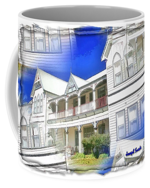 Front Coffee Mug featuring the photograph Do-00270 Dreamy Front Of Peppers Convent by Digital Oil