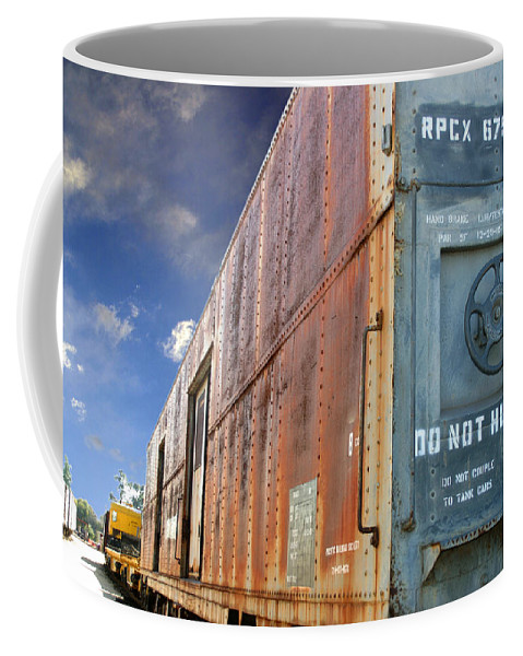 Do Not Hump Coffee Mug featuring the photograph Do Not Hump by Anthony Jones