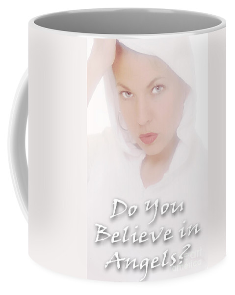 Clay Coffee Mug featuring the photograph Do You Believe In Angels by Clayton Bruster