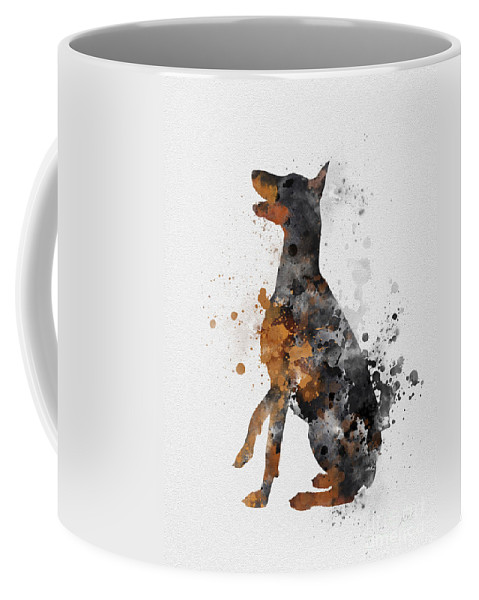 Doberman Pinscher Coffee Mug For Sale By My Inspiration